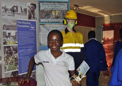 School visit at the Namibian Uranium Institute