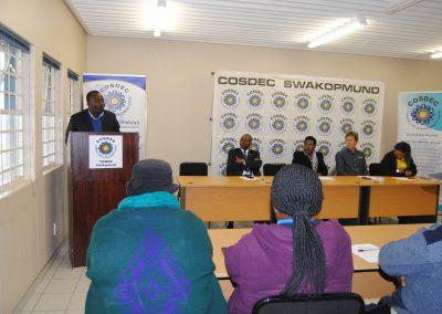 EDF/COSDEC Handover ceremony